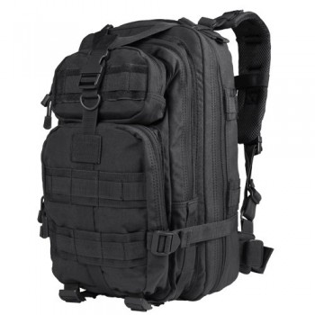 Black Rucksack For Survival Tools