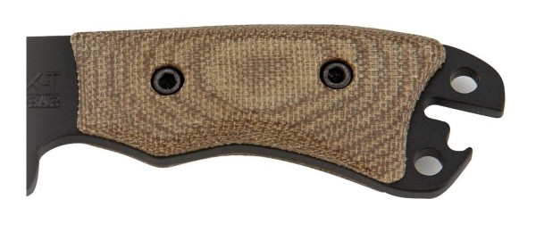 Solid Handle For A Survival Knife