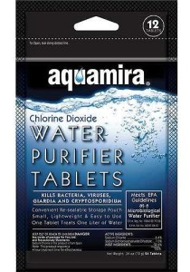 Foiled Pack Of 12 Aquamira Tablets