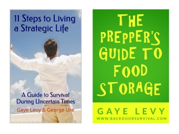 Survival Books by Gaye Levy