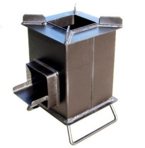 Review of grover rocket stove is it good for camping for Heavy duty rocket stove