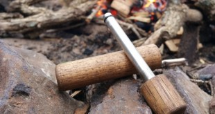 wooden fire piston