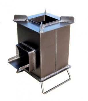 heavy duty Grover rocket stove